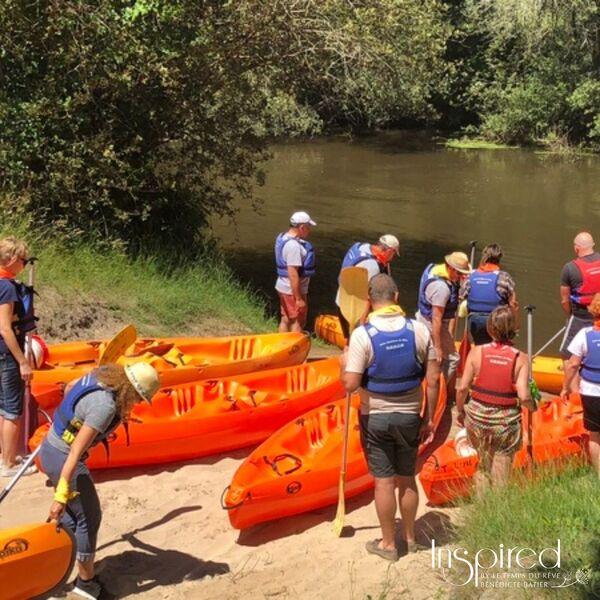 Team Building Canoe Ffb Gironde
