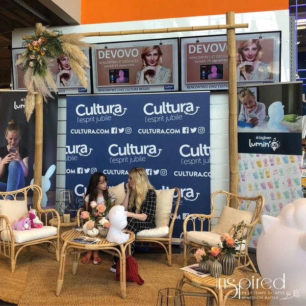 Rencontre Blogueuse Magasin Cultura 2018 (4)